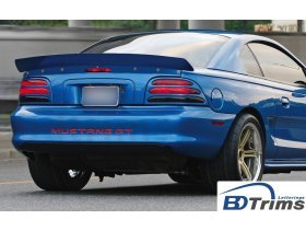 Bumper Plastic Letters Inserts for 1994-1998 Ford Mustang GT Models