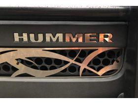 Bumper Plastic Letters Inserts for Hummer H3 Models