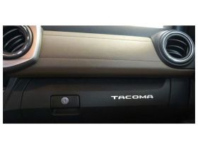 Glove Box Plastic Letters Inserts for 2016-2020 Toyota TACOMA Models