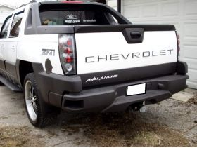 Tailgate Plastic Letters Inserts for Chevrolet Avalanche Models