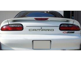 Front & Rear Bumper Plastic Letters Inserts for 1992-2002  Chevrolet Camaro Models