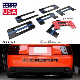 Bumper Plastic Letter Inserts for Ford COBRA 2003-2004