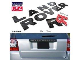 Tailgate Plastic Letter Inserts for Land Rover FREELANDER 2 / LR2 2008-2010