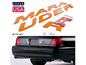 Bumper Plastic Letter Inserts for Mercury MARAUDER 2000-2004