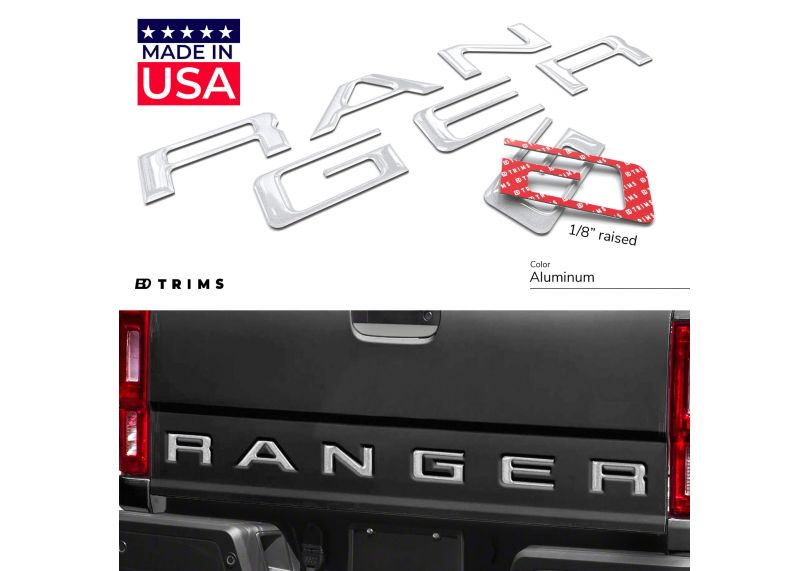 Mustang  Outline silhouette Aluminum License Plate Tag Simulated Carbon Fiber