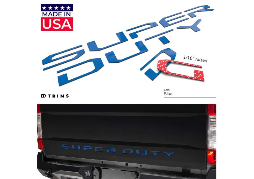Red Dashboard Letters Super Duty 2008-2016 Dash Inserts Not Decals