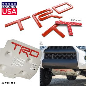 TRD Skid Plate Letters Inserts for Toyota TACOMA 2016-2021