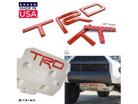 TRD Skid Plate Letters Inserts for Toyota TACOMA 2016-2020