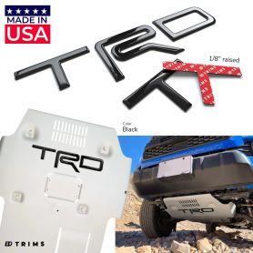 TRD Skid Plate Letters Inserts for Toyota 4Runner 2015-2018 / FJ Cruiser 2010-2014