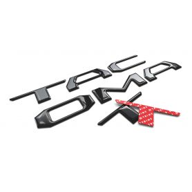 TAILGATE Plastic Letters Inserts for Toyota TACOMA 2016-2021