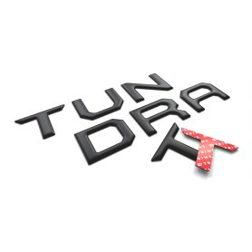 TAILGATE Plastic Letters Inserts for Toyota TUNDRA 2014-2021